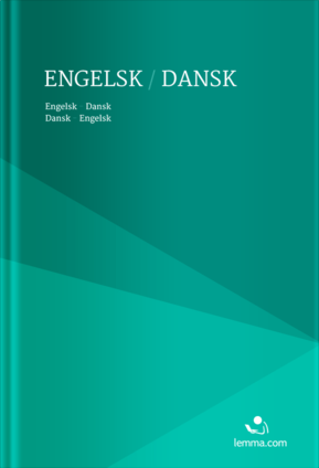 Lemma.com's danish-english dictionary