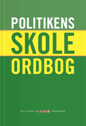 Politiken's danish school dictionary