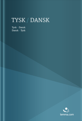 Lemma Danish-German / German-Danish dictionary